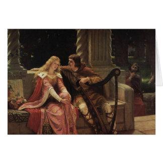 Tristan et Isolde, Edmund Blair Leighton, 1902 Carte De Vœux