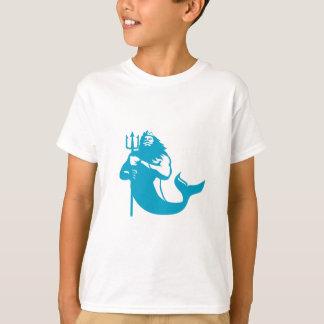 Triton Trident de utilisation rétro T-shirt