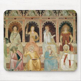 Triumph de la doctrine catholique tapis de souris