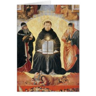 Triumph de St Thomas Aquinas Cartes