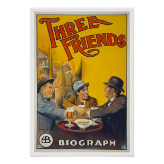 Trois amis posters