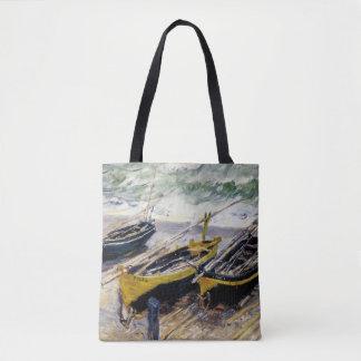 Trois bateaux de pêche sac