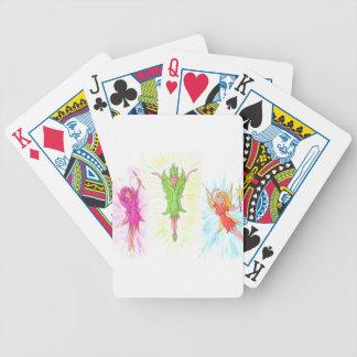 Trois fées jeu de cartes