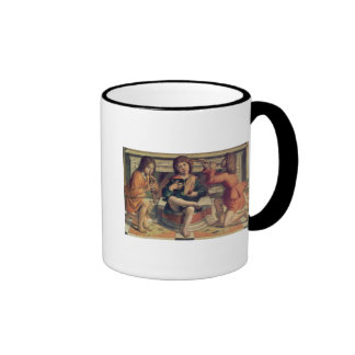Trois musiciens d'ange mugs à café