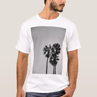 Trois paumes blanches t-shirt