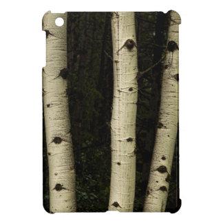 Trois piliers de la forêt coques pour iPad mini