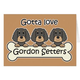 Trois poseurs de Gordon Cartes De Vœux