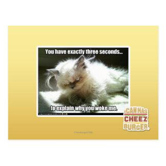 Trois secondes carte postale