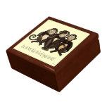 Trois singes sages coffret cadeau
