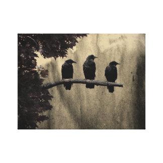 Trois sur un arbre toiles