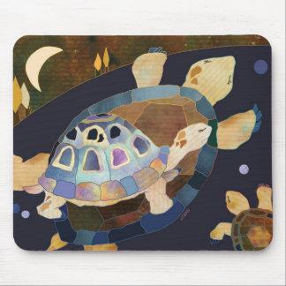 Trois tortues tapis de souris