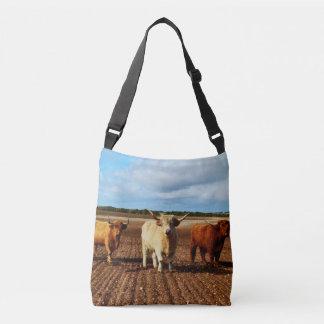 Trois vaches des montagnes vilaines, sac unisexe
