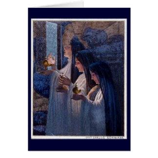 Trois vierges sages par la carte de beaux-arts de