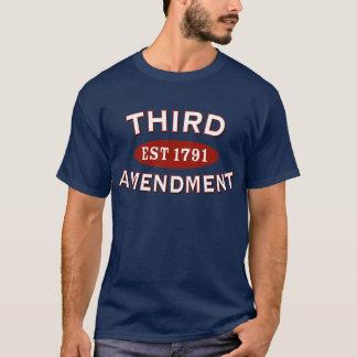 Troisième amendement t-shirt