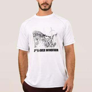 Troisième champ d'éoliennes Duxbury de croisement T-shirt