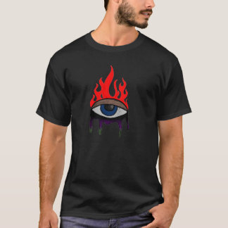 Troisième oeil de flambage t-shirt