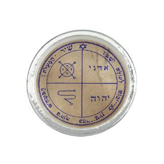 Troisième pentagramme de Jupiter Bague Avec Photo