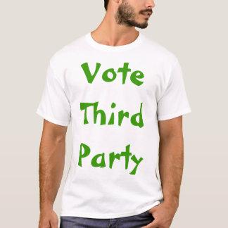 Troisième politique de partis t-shirt