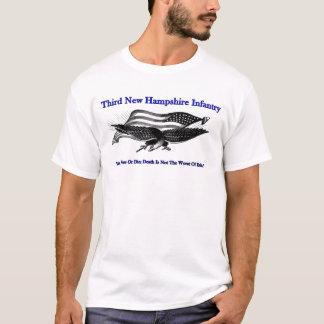 Troisième T-shirt d'infanterie du New Hampshire