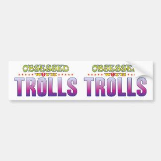 Trolls 2 hantés autocollant pour voiture