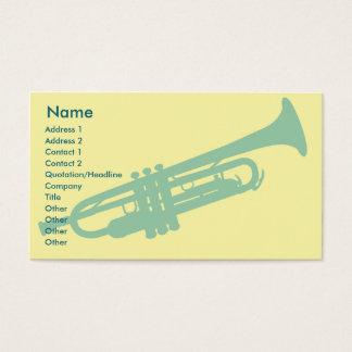 Trompette - affaires cartes de visite
