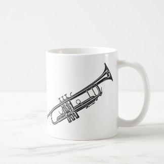 """Trompette """"dessin """" mug"""