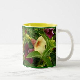Trompette d'or mug bicolore