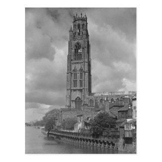 Tronçon et rivière Welland, le Lincolnshire de Carte Postale