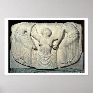 Trône de Ludovisi, détail montrant la naissance de Posters