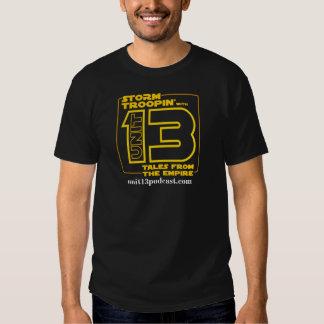 Troopin avec l'unité 13 t-shirt