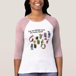 Trop de T-shirt de tubas