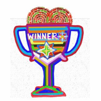 Trophée de champion de gagnant : Artiste Naveen Jo Photo Sculpture