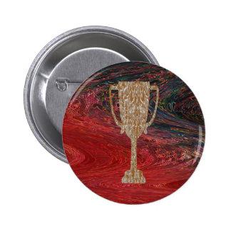 TROPHÉE d'or : Célébration de récompense de Badge