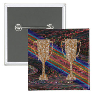 TROPHÉE d'or : Célébration de récompense de récomp Badge