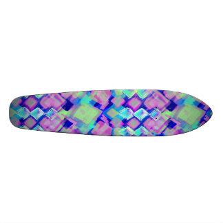 Tropical dream in pink skateboard  20 cm