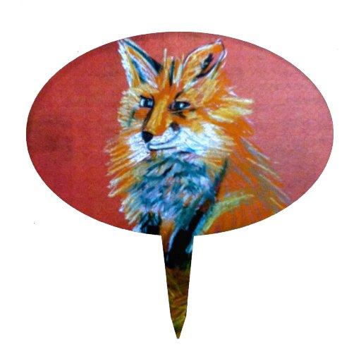 Trot de Fox Piques À Gâteaux