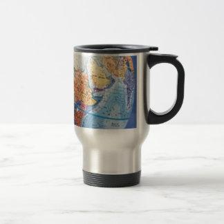 Trotteur de globe (15oz.) mug de voyage