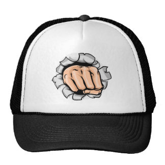 Trou de poinçon de main de poing casquette de camionneur