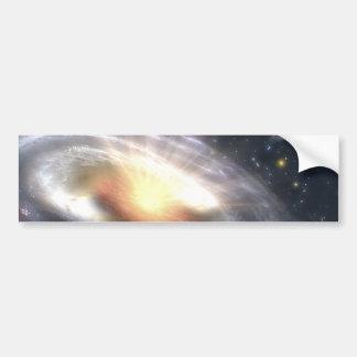 Trou noir de quasar de NASAs Autocollant De Voiture