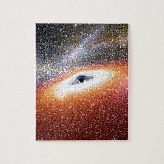 Trou noir massif de NASAs Puzzle