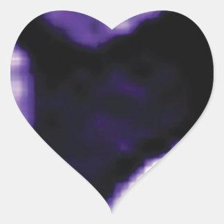 trou pourpre des anneaux sticker cœur
