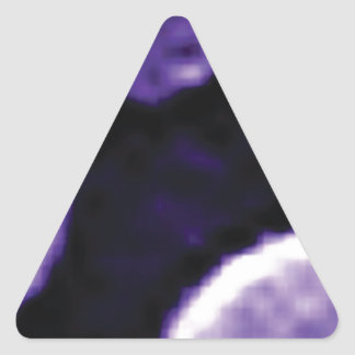 trou pourpre des anneaux sticker triangulaire