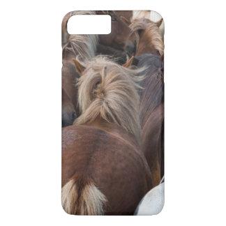 Troupeau de cheval islandais coque iPhone 8 plus/7 plus