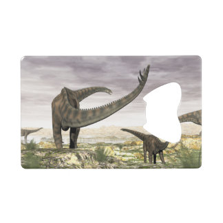 Troupeau de dinosaures de Spinophorosaurus dans le