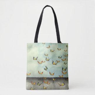 Troupeau de sac fourre-tout à papillons