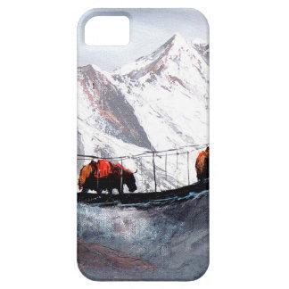 Troupeau de yaks Himalaya de montagne iPhone 5 Case
