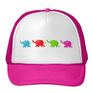 Troupeau d'éléphants casquettes de camionneur