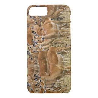 Troupeau d'impala femelle, masai Mara, Kenya Coque iPhone 8/7
