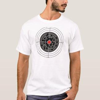 Trous de balle dans la cible - mais pas la boudine t-shirt