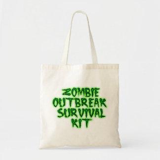 trousse de survie de manifestation de zombi fourre sacs de toile